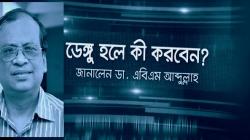 ডেঙ্গু নিয়ে ডা. আব্দুল্লাহ'র পরামর্শ